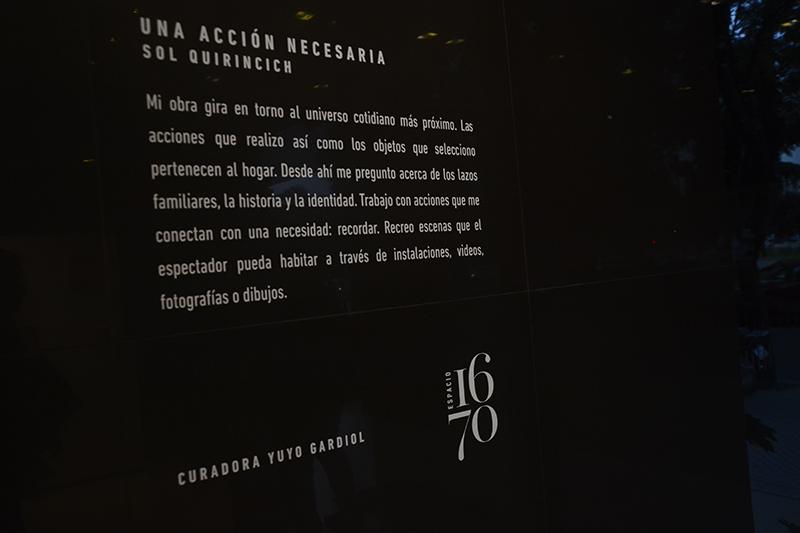 2º Muestra Espacio 1670