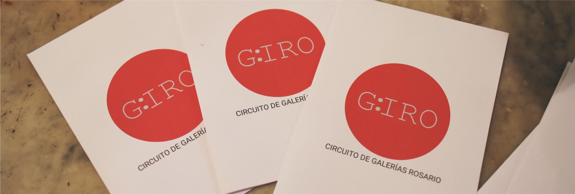 Giro - 1º Circuito de Galerias de Arte Rosario