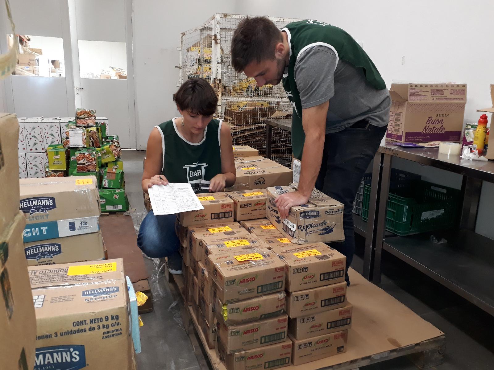 1º Jornada de Clasificación de Alimentos 2019