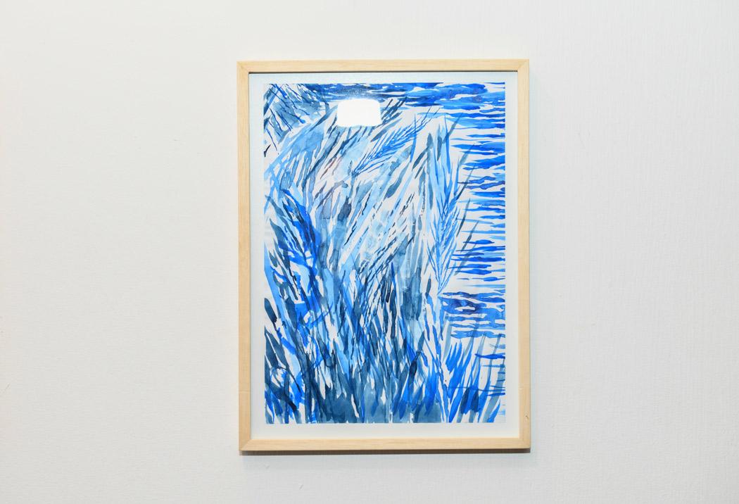 Trastienda | Adriana Ravenna - Técnica: Acrílico sobre papel | Medidas: 21 x 27,9cm | Año: 2018