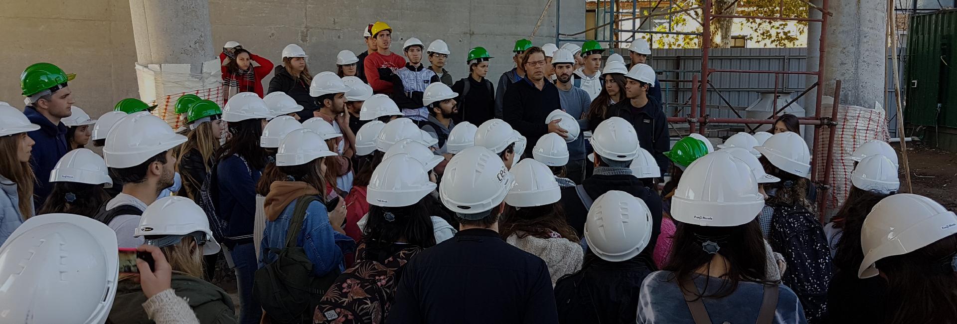 Estudiantes de Arquitectura recorrieron Condos Refinería
