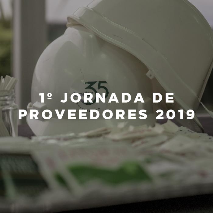 1º Jornada de Proveedores 2019