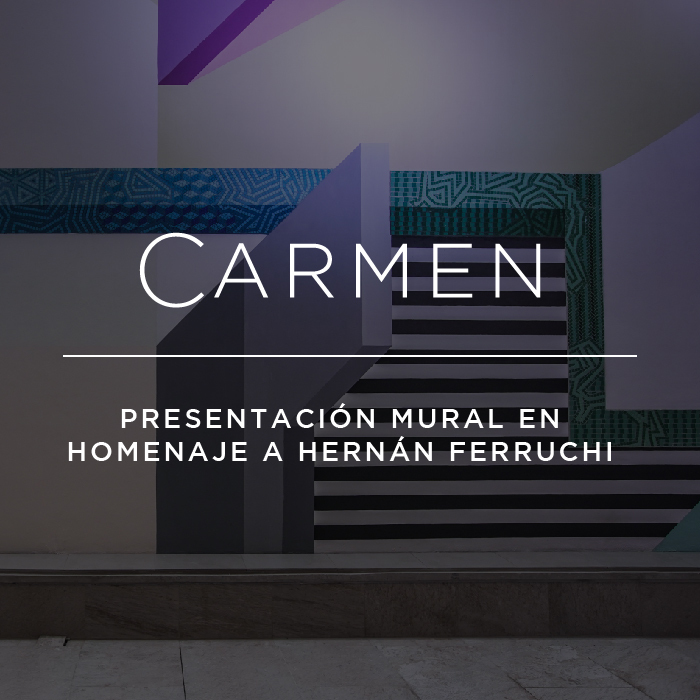 Presentación Mural en homenaje a Hernán Ferruchi
