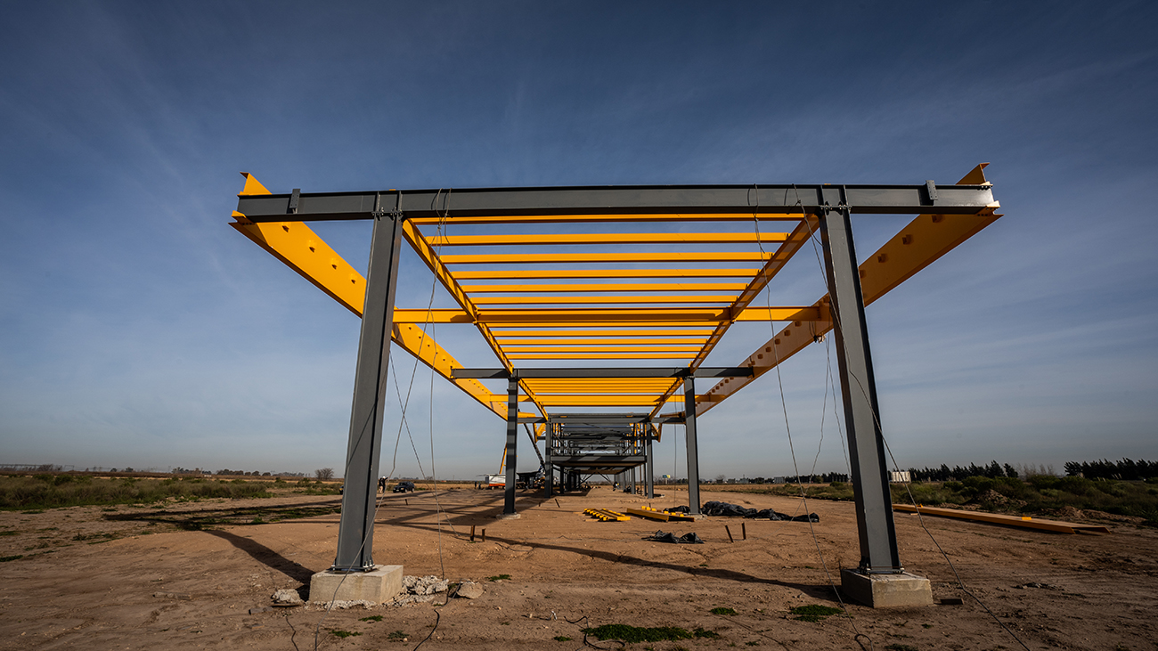 Ciudad Industria - Julio 2021 Avance de Obra