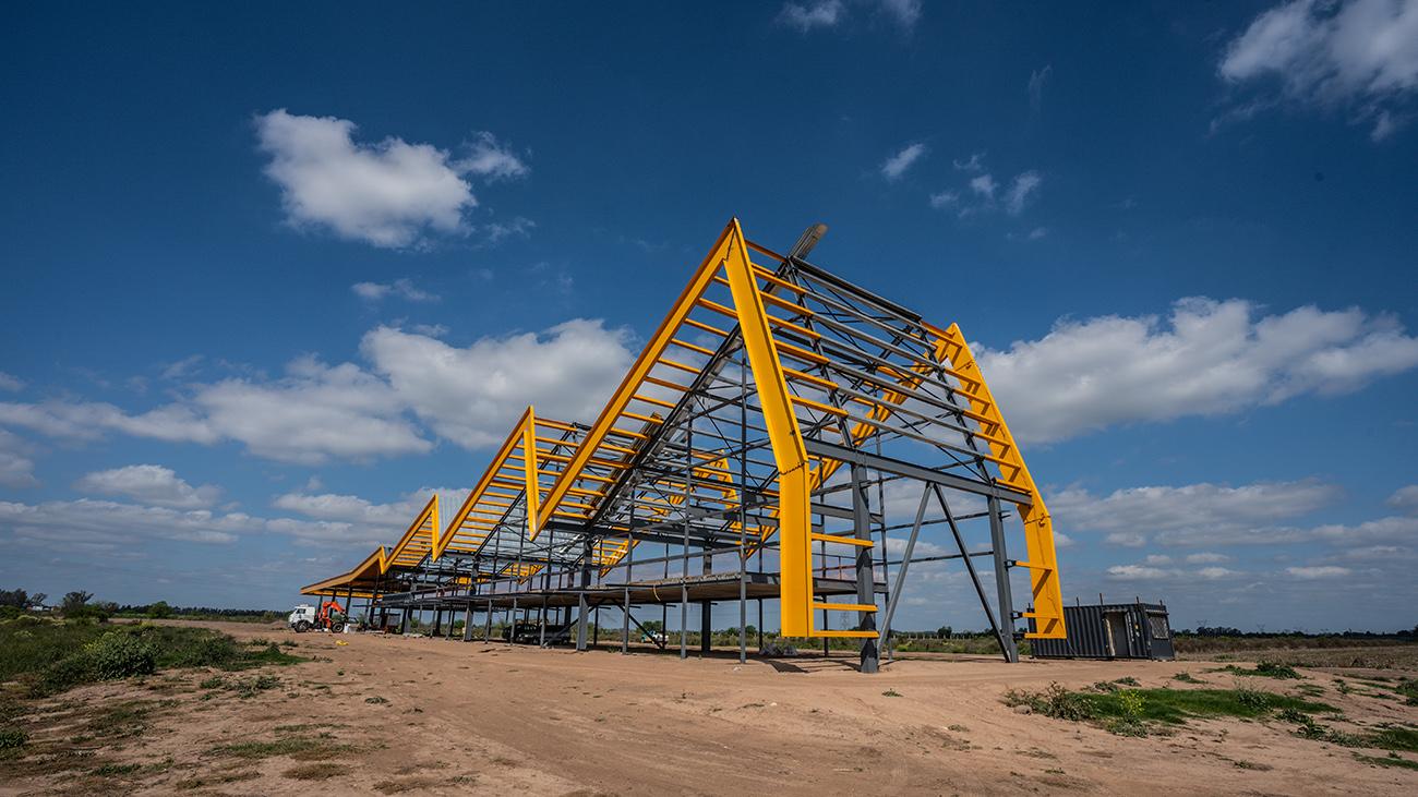 Ciudad Industria - Octubre 2021 Avance de Obra