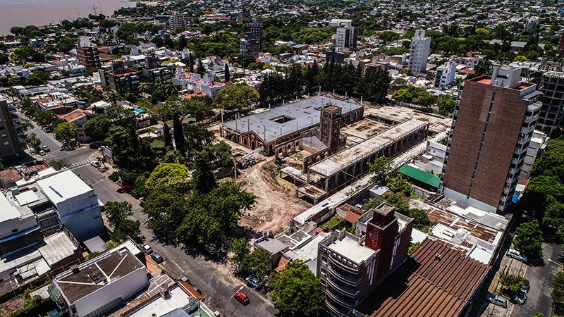 Paso del Paraná - Febrero 2019 Avance de Obra