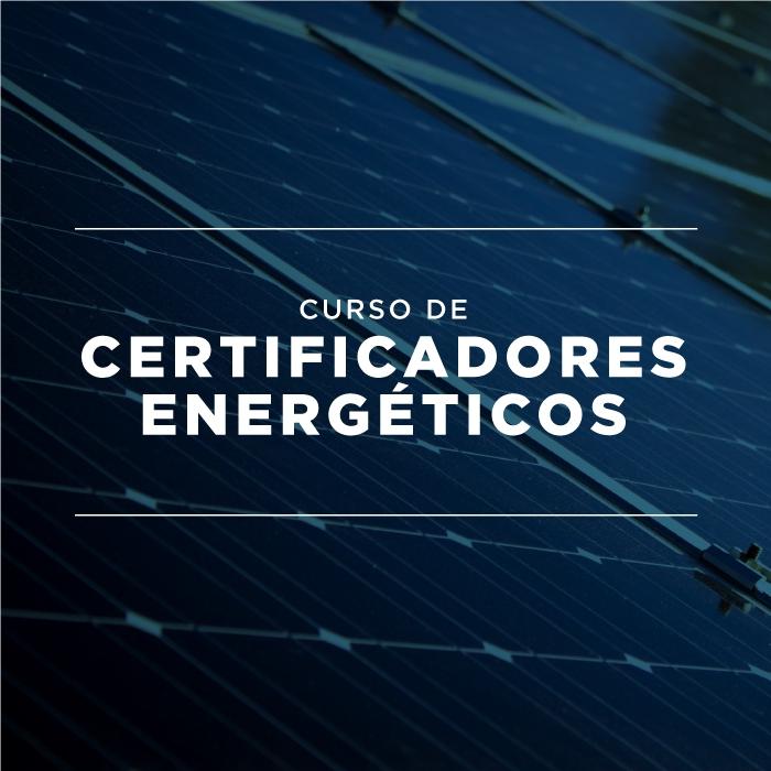 Curso Certificadores de Energía