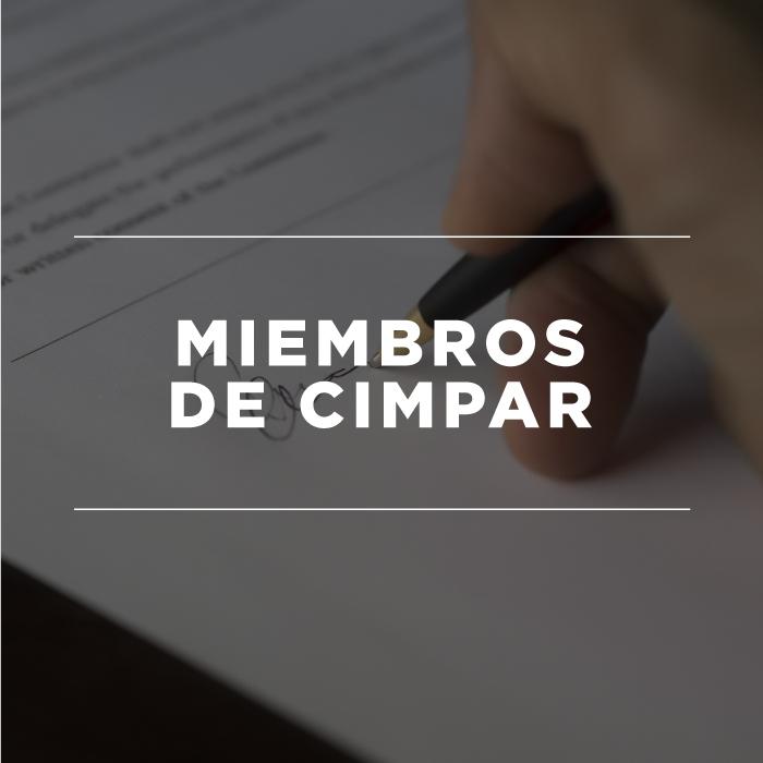 Miembros de CIMPAR