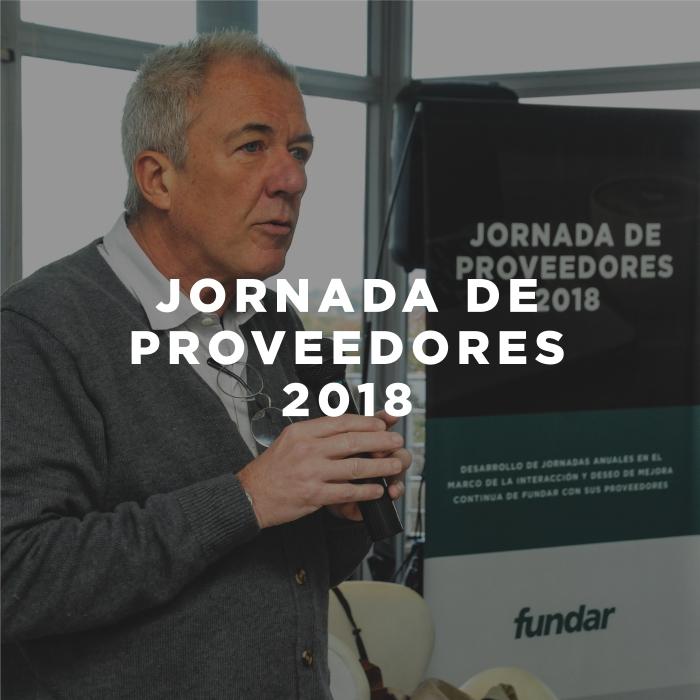 1º Jornada de Proveedores de 2018