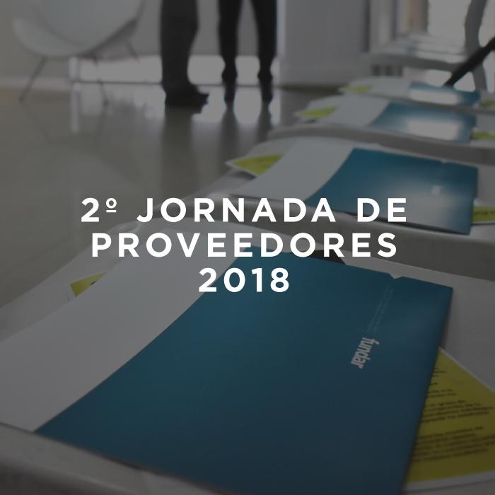 2º Jornada de Proveedores del año